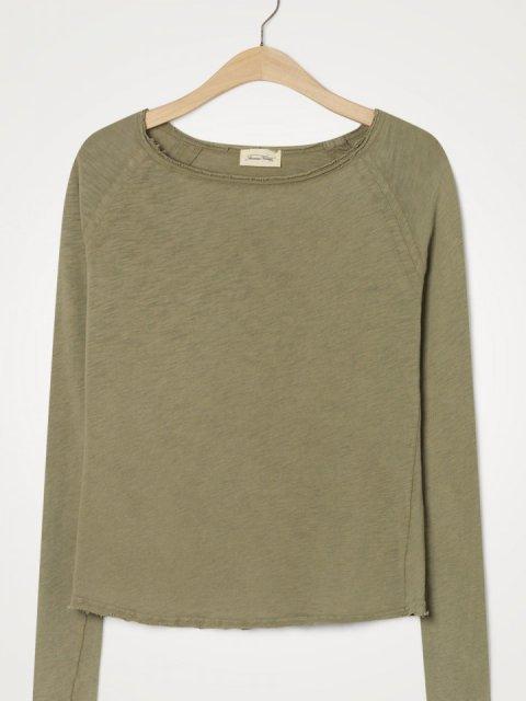 AMERICAN VINTAGE T-shirt LM Son Verveine Vintage | Artikelnummer:SON31E20 verveine