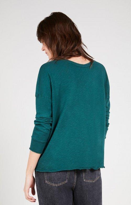 AMERICAN VINTAGE T-shirt Sonoma Blue Canard | Artikelnummer:SON36E20 blue canard 3