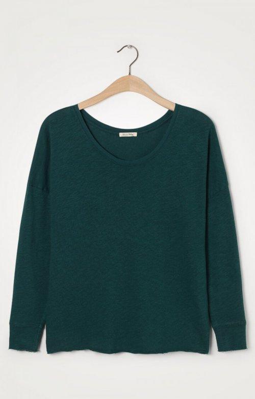 AMERICAN VINTAGE T-shirt Sonoma Blue Canard | Artikelnummer:SON36E20 blue canard