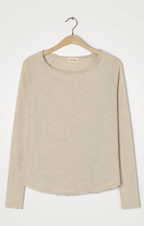 AMERICAN VINTAGE T-shirt Sonoma Creme Chine | Artikelnummer:SON31E20 cremechine