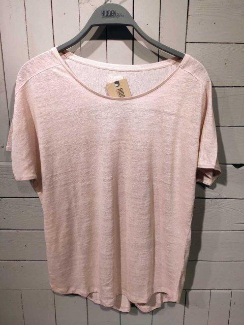 BLAUMAX T-shirt Over Linnen Nude | Artikelnummer:over 5170
