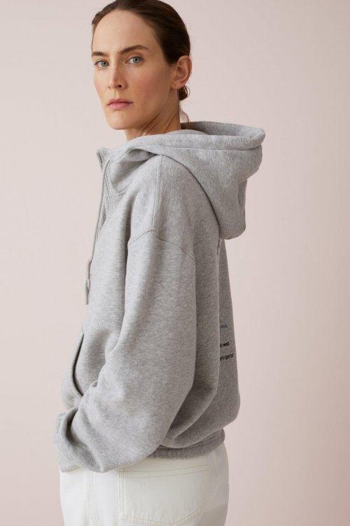 CLOSED Hoodie Grey Melange | Artikelnummer:C955660.470.PR 116 3