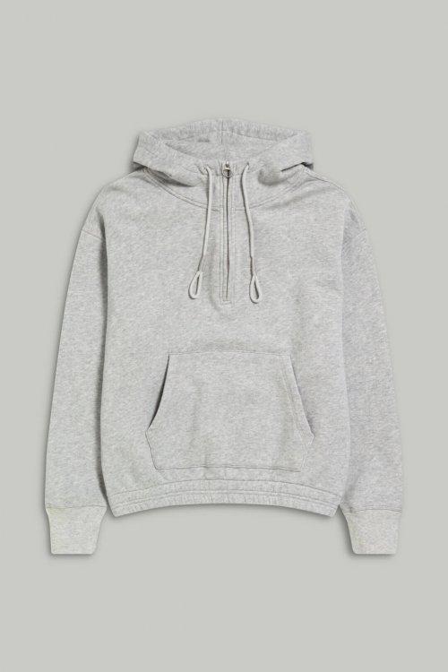 CLOSED Hoodie Grey Melange | Artikelnummer:C955660.470.PR 116