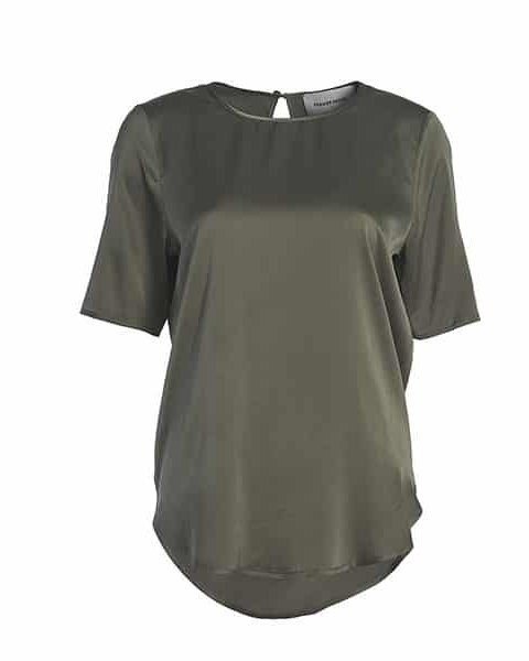 FEMMES du SUD Top Beaudine Dusty Olive | Artikelnummer: beaudine dustyolive