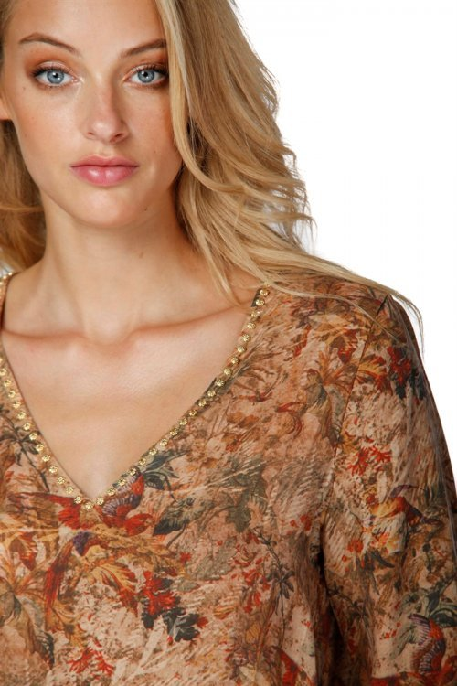 MASON'S Blouse Camilla Panna | Artikelnummer:4CA3713B.TE14S28 161