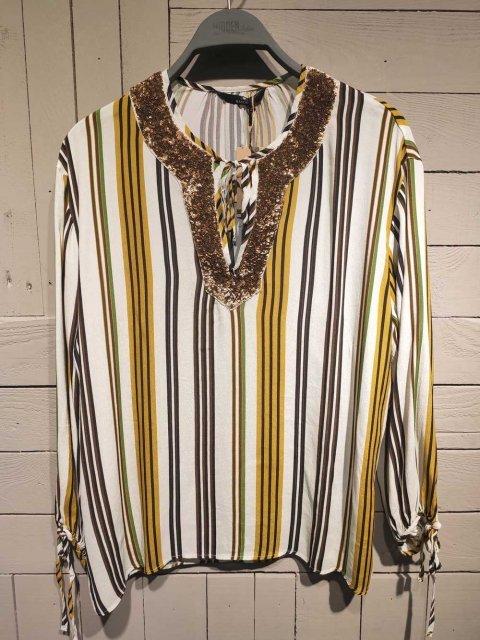 MASON'S Blouse Malesya Panna stripe | Artikelnummer:4CA4320P.VIS5S12 161