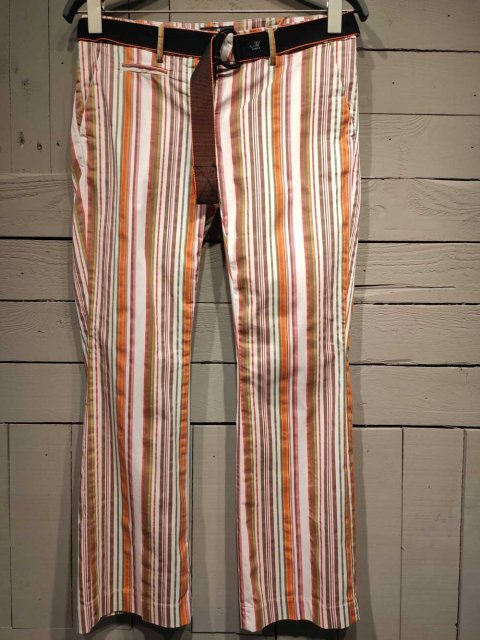 MASON'S Broek New York Trumpet Stripe Orange | Artikelnummer: 4PND3504.MBE096S 161