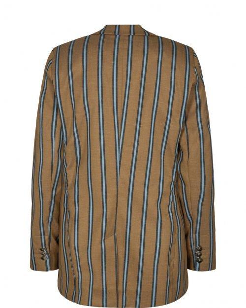 MOS MOSH Blazer Cobb Zeth Bran Stripe   Artikelnummer:132240 655
