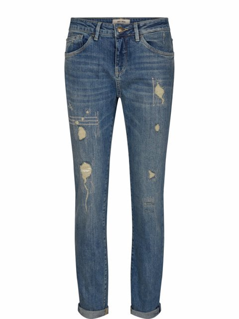 MOS MOSH Jeans Bradford Worked Regular Blue | Artikelnummer: 132450 401