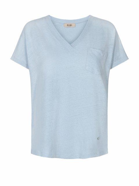 MOS MOSH T-shirt Maya Celestial Blue   Artikelnummer:131910 454
