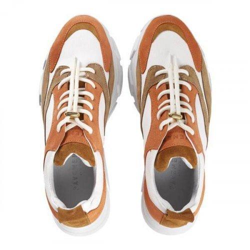 PAVEMENT Sneaker Portia Suede Orange Combo | Artikelnummer:19090.portia 449 3