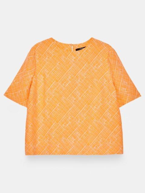 SOMEDAY Shirt Zhilipp Silky Orange | Artikelnummer:700447646 4099