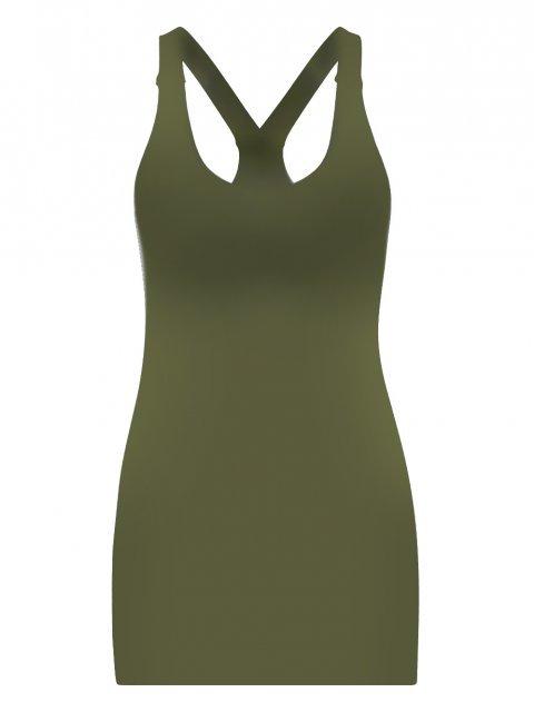 STUDIO ANNELOES Top Gaby Army Green | Artikelnummer:4310 7700