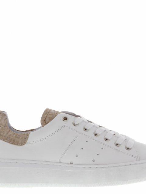 TANGO Sneaker Ingeborg White leather/Natural | Artikelnummer:ingeborg.1.cx white