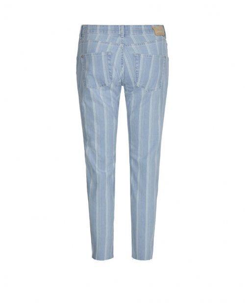 MOS MOSH Broek Sumner Fever Jeans Indigo Stripe   Artikelnummer:133950 456