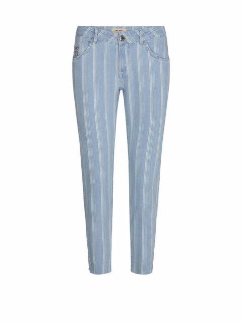 MOS MOSH Broek Sumner Fever Jeans Indigo Stripe | Artikelnummer:133950 456