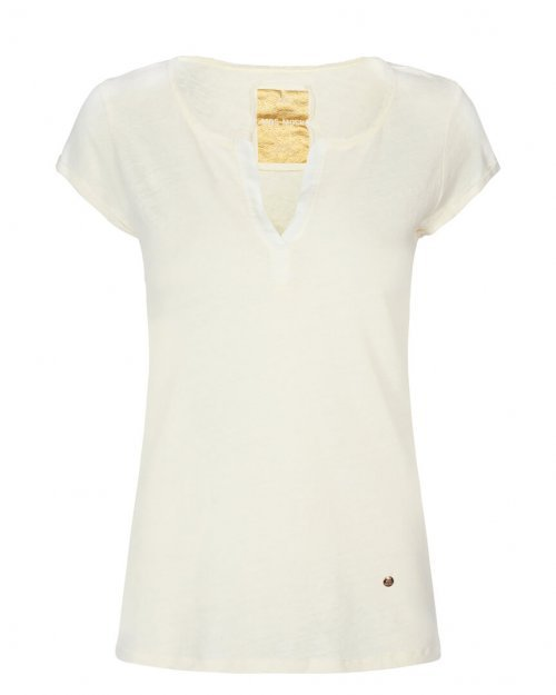 MOS MOSH T-shirt Troy Ecru | Artikelnummer:117440.20 180