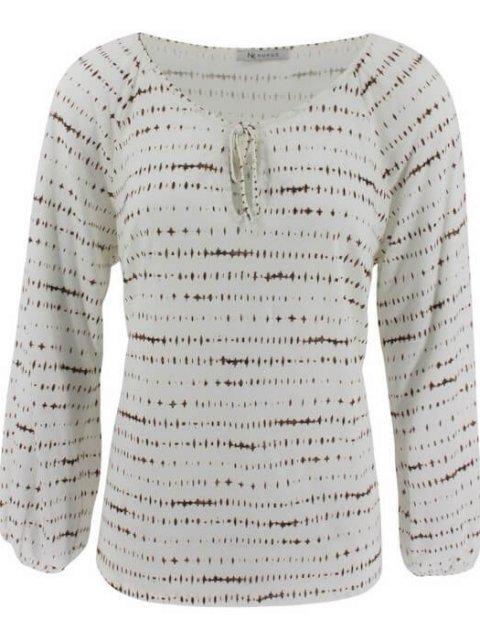 NUKUS Shirt Cindy White Taupe | Artikelnummer:cindy white taupe