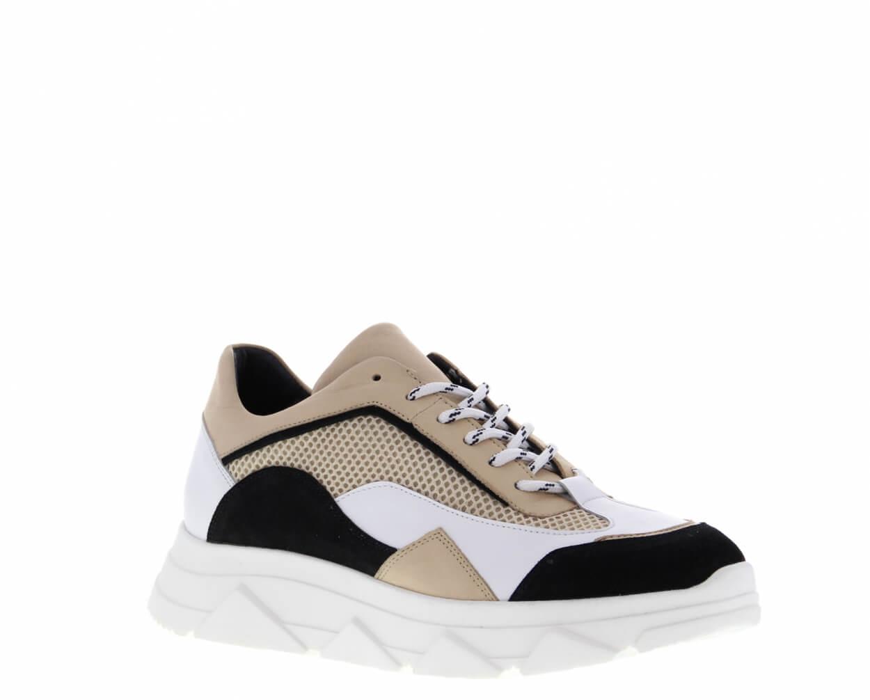 TANGO Sneaker Kady Fat Black/White/Beige | Artikelnummer:kadyfat.22b 102