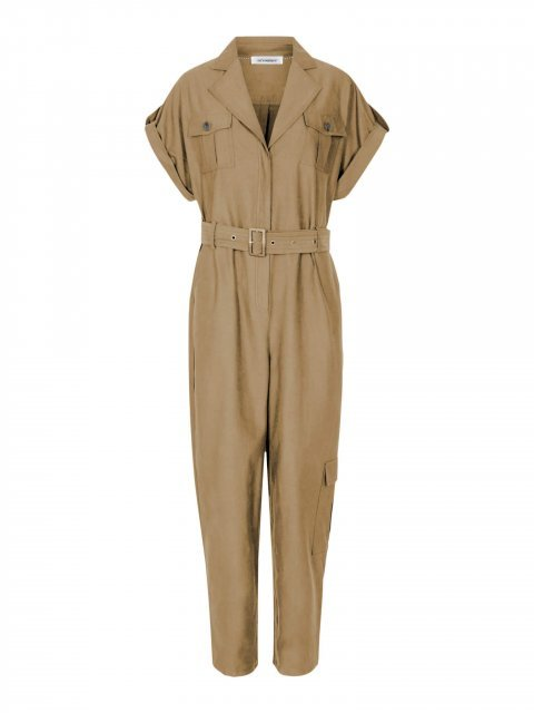 CO-COUTURE-Jumpsuit-Cargo-Suit-Elle-Summer-Khaki
