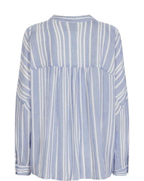 MOS MOSH Blouse Hessa Stelo Stripe Blue   Artikelnummer:133100 927