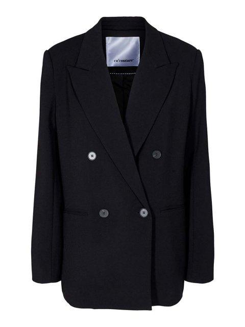CO'COUTURE Blazer Andrea Oversized Black | Artikelnummer:90101 96