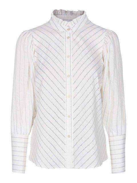 CO'COUTURE Blouse Dina Stripe Offwhite | Artikelnummer:95469 11