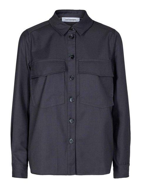 CO'COUTURE Blouse Uniforn Biot Dark Grey | Artikelnummer:95437 140