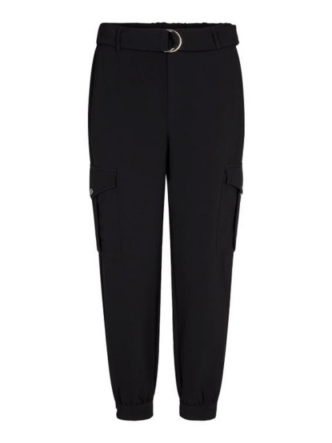 CO'COUTURE Broek Carrie Utility Jogger Black | Artikelnummer: 91091 96