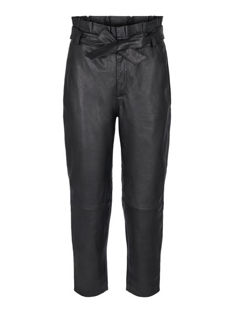 CO'COUTURE Broek Phoebe Leather Black | Artikelnummer: 71451 96