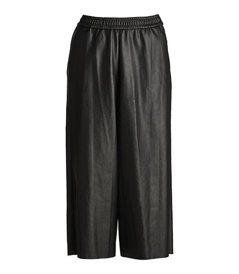FEMMES du SUD Culotte Delphine Leather Look Black | Artikelnummer:delphine black