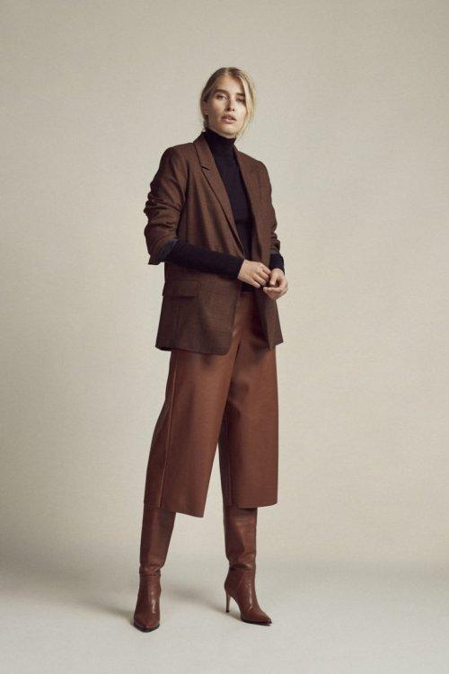 FEMMES du SUD Culotte Delphine Leather Look Cognac | Artikelnummer:delphine cognac 3