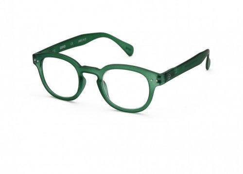 IZIPIZI IZIPIZI Leesbril Model C Crystal Green   Artikelnummer:#C Green Crystal
