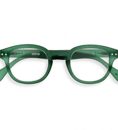IZIPIZI IZIPIZI Leesbril Model C Crystal Green | Artikelnummer:#C Green Crystal