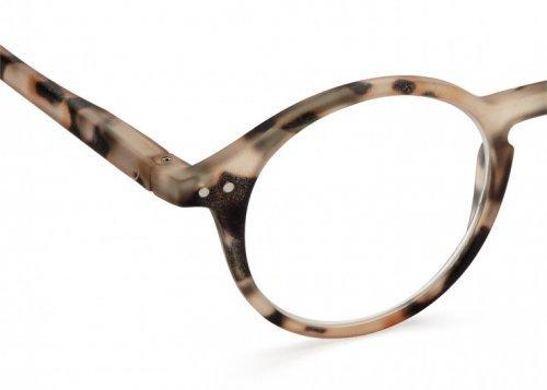 IZIPIZI IZIPIZI Leesbril Model D Light Tortoise | Artikelnummer:#D loight tortoise 3