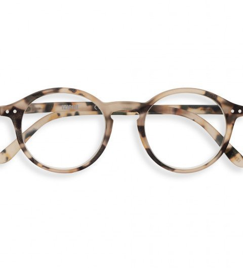 IZIPIZI IZIPIZI Leesbril Model D Light Tortoise | Artikelnummer: #D loight tortoise