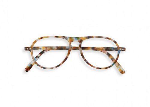 IZIPIZI IZIPIZI Leesbril Model K Blue Tortoise | Artikelnummer:#K blue tortoise