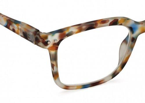 IZIPIZI Izipizi Leesbril Model L Blue Tortoise | Artikelnummer:#L blue tortoise 3