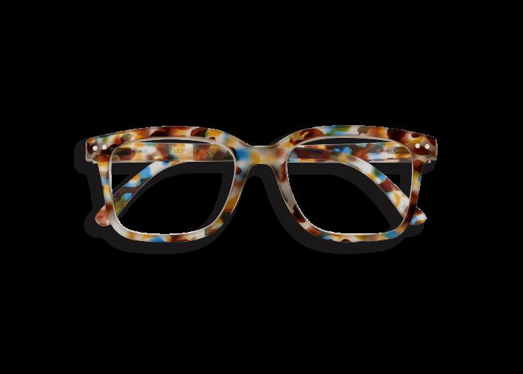 IZIPIZI Izipizi Leesbril Model L Blue Tortoise   Artikelnummer:#L blue tortoise