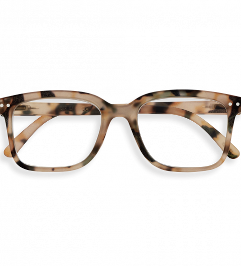 IZIPIZI Izipizi Leesbril Model L Light Tortoise | Artikelnummer:#L light tortoise