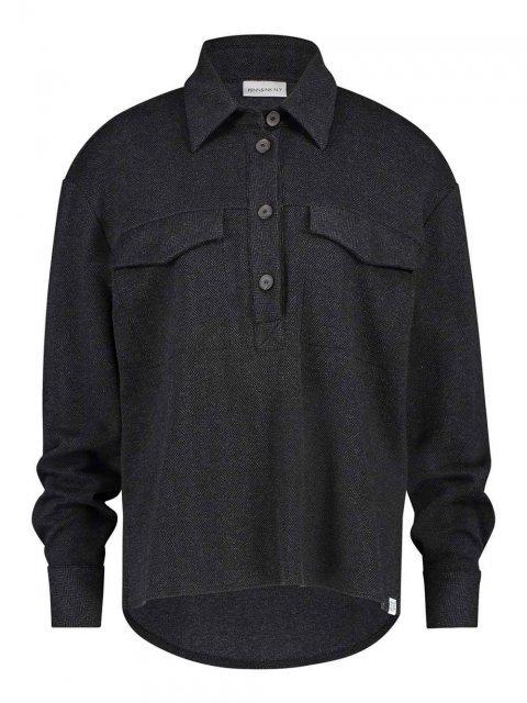 PENN & INK Blouse Black | Artikelnummer:W20N820 black