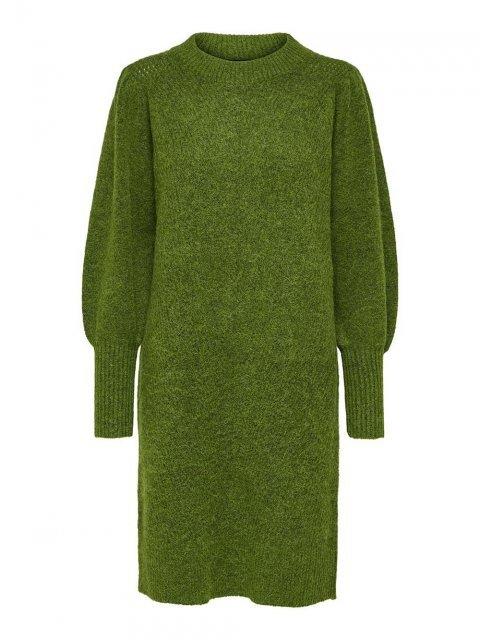 SELECTED FEMME Jurk Knitted Linna Twist of Lime | Artikelnummer:16075569 t.o.lime