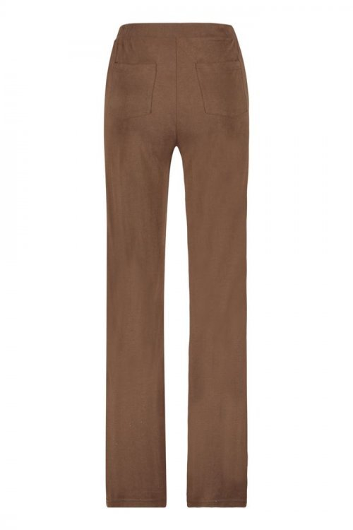 SIMPLE Broek Vlada Jogger Brown | Artikelnummer: vlada brown