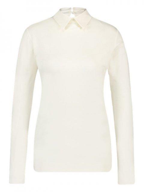 SIMPLE T-shirt LM Teus Ivory | Artikelnummer:teus ivory