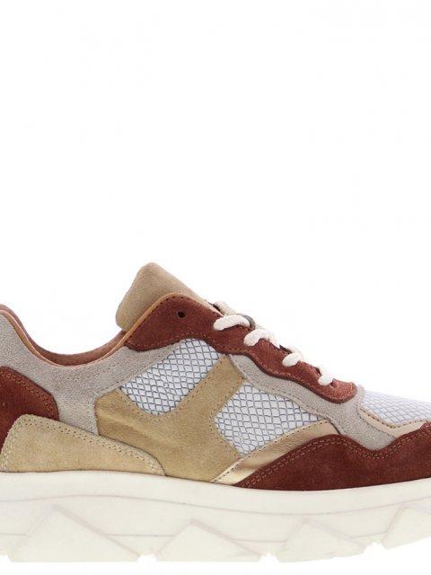 TANGO Sneaker Kady Fat Beige Brique Offwhite | Artikelnummer:kady.fat.10AZ 7000