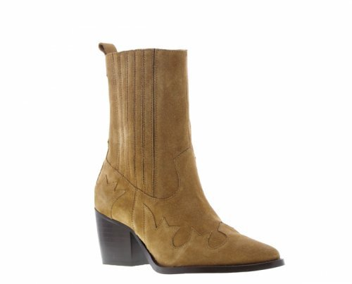 TANGO Western Boot Ella Square Cognac | Artikelnummer:ella.6A 800 3