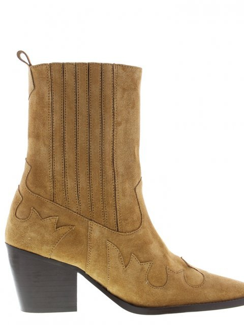 TANGO Western Boot Ella Square Cognac | Artikelnummer:ella.6A 800