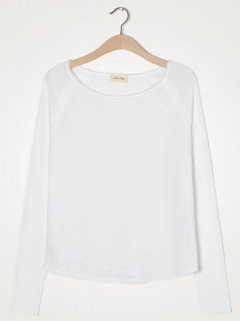 AMERICAN VINTAGE T-shirt LM Sonoma Blanc | Artikelnummer:son31ge21 blanc