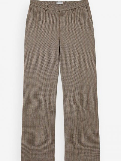 BELLAMY Broek Butterfly Wool Dark Brown Check | Artikelnummer: butterfly.wool check