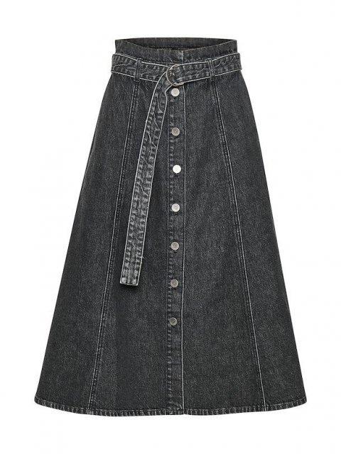 GESTUZ Rok Jeans Vintage Black | Artikelnummer:10904350 90868